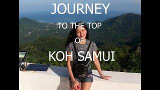 Journey to, The Top, of Koh Samui, Thailand, on a Honda Crf250m, 2020.