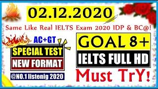 IELTS LISTENING PRACTICE TEST 2020 WITH ANSWERS | 02.12.2020 | SPECIAL LISTENING TEST IELTS