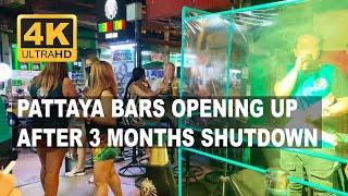 Night Out in Pattaya   Bars Are Finally Allowed To Open After More Than 3 Months Shutdown (In 4K)