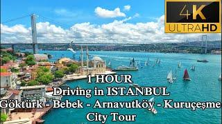 ISTANBUL DRIVE TOUR 2020 | THROUGH EUROPEAN SIDE | Стамбул Тур | #Göktürk #Bebek #Arnavutköy