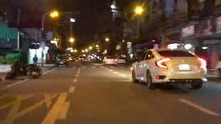 Update Pattaya Beach  road in the Evening . and Second Road.