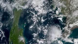 Samui Samui from Space Geo color 2020-09-04 full day timelapse