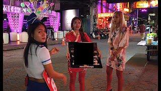 Pattaya Night Scenes: The Girls Are Waiting For You Here In Thailand