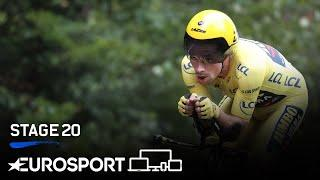 Tour de France 2020 - Stage 20 Highlights | Cycling | Eurosport
