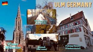 Ulm in Germany | Walking around the city | Ulm Tourism | Discover Germany | 4k Vlog with Lal Lhot
