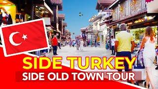 Side Turkey | Side Old Town, Shops, Harbour and Apollo Temple in Side Turkey
