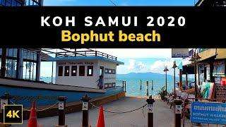 What to expect in Koh Samui 2020 ? Bophut Beach & Fisherman's Village Samui Thailand Street Walk 4K