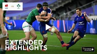 Extended Highlights: France v Ireland  | Guinness Six Nations 2020