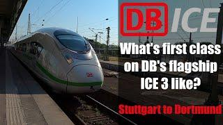 What's First Class on Germany's flagship ICE 3 like?