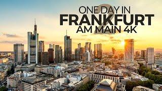 ONE DAY IN FRANKFURT AM MAIN (GERMANY) PART 2 | 4K UHD | 2nd Time-Lapse-Tour through an amazing city