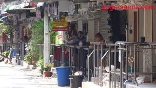 Ghost Town? Pattaya at noon March 2020 - Beach Road Soi6, Soi7 and Soi8