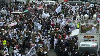 Indonesia: Hundreds at anti-France rally outside French embassy | AFP