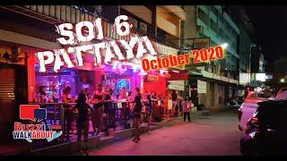 Soi 6 Pattaya - Lots of girls but zero customers - Can Soi 6 Pattaya survive? October 2020
