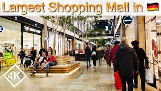 [4K] Largest Shopping Center in Germany - Large Shopping Mall Walking Tour