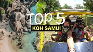 5 Things You MUST DO on KOH SAMUI!! (2020 Thailand Travel Guide) - Vlog #184