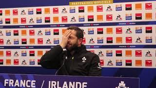 France v Ireland: Andy Farrell post-match press conference