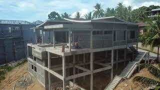 Patio design at Samui Partnership.We are the best leader in the construction line in Koh Samui.