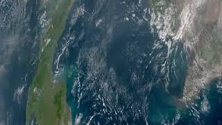 Samui Samui from Space Geo color 2020-04-01 full day timelapse